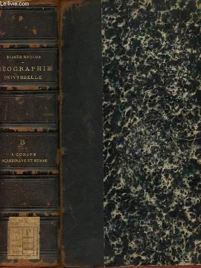 NOUVELLE GEOGRAPHIE UNIVERSELLE - LA TERRE ET LES HOMMES - 2 - L'EUROPE SCANDINAVE ET RUSSE