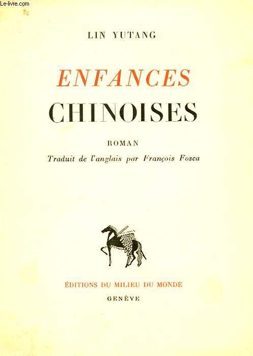ENFANCES CHINOISES