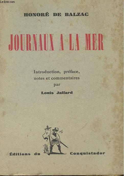 JOURNAUX A LA MER