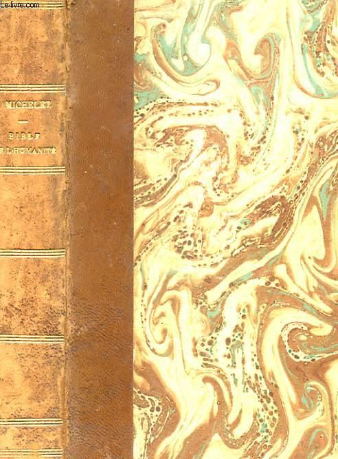 BIBLE DE L'HUMANITE