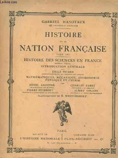 HISTOIRE DE LA NATION FRANCAISE TOME XIV