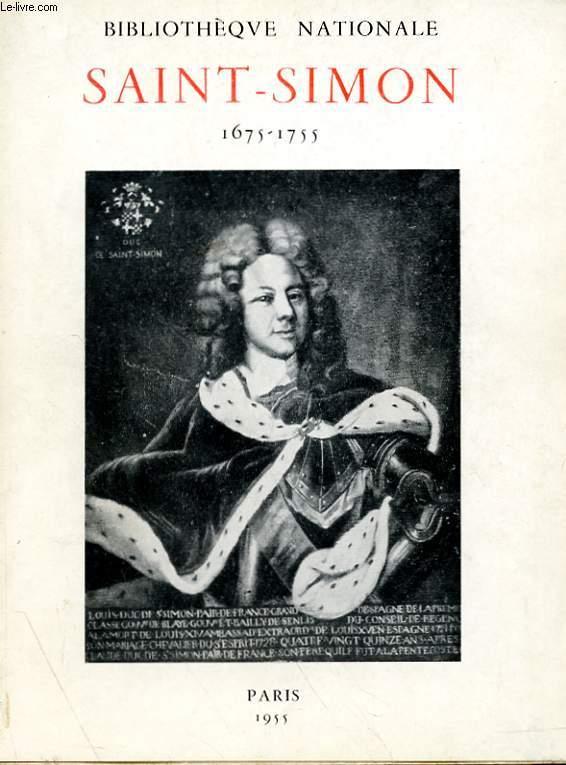 SAINT-SIMON (1675-1755)