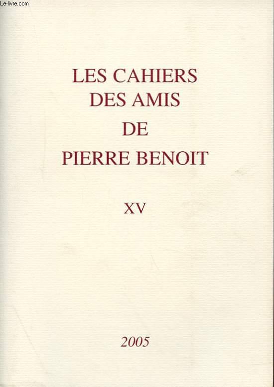 LES CAHIERS DES AMIS DE PIERRE BENOIT XV