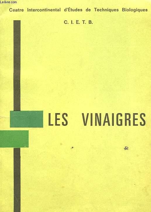 LES VINAIGRES