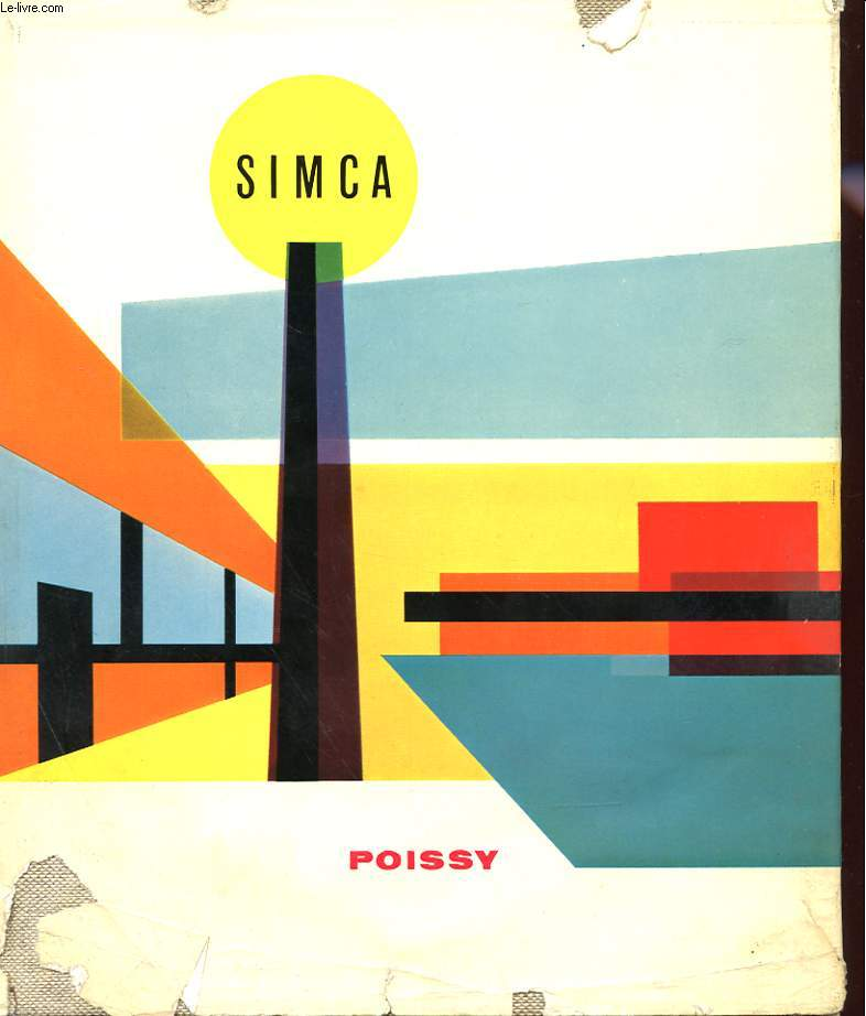 SIMCA POISSY + RAPPORT ANUEL SIMCA 1959