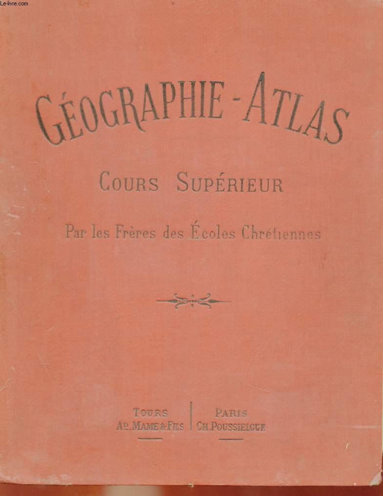GEOGRAPHIE-ATLAS - COURS SUPERIEUR