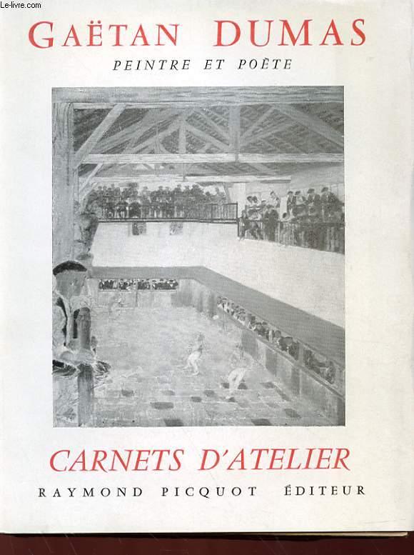 PEINTRE ET POETE - CARNETS D'ATELIER