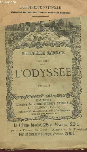 L'ODYSEE TOME 1