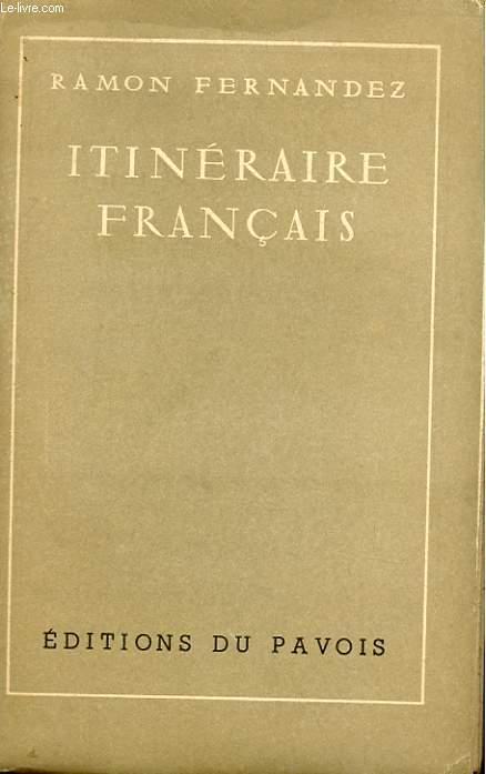 ITINERAIRE FRANCAIS