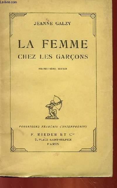 LA FEMME CHEZ LES GARCONS