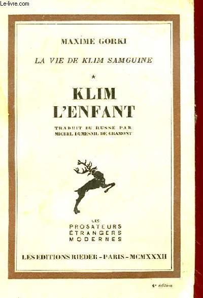 KLIM L'ENFANT