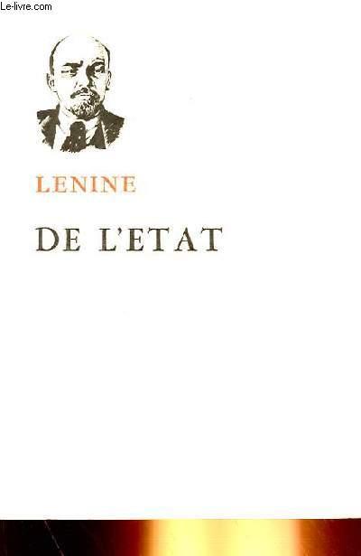 DE L'ETAT