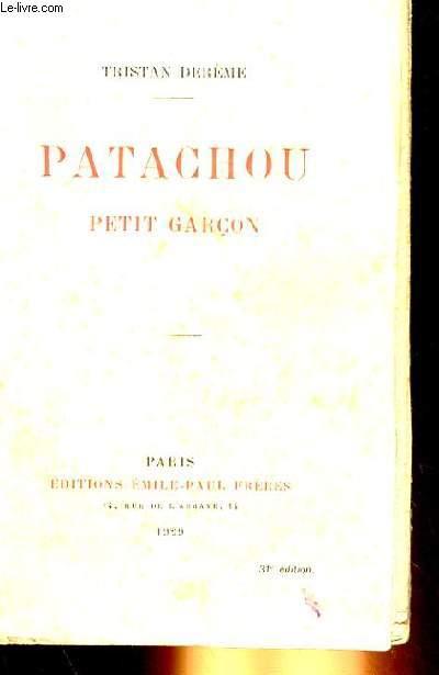 PATACHOU, PETIT GARCON