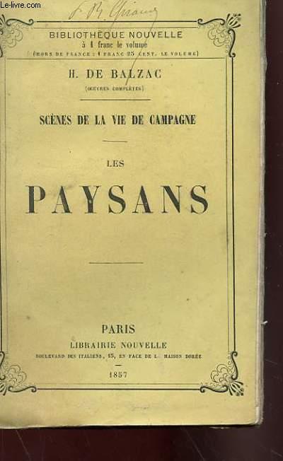 SCENES DE LA VIE DE CAMPAGNE, LES PAYSANS