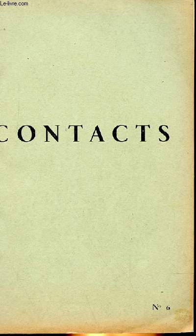CONTACTS N° 6