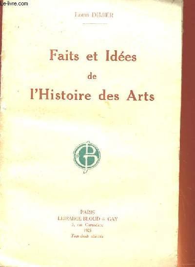 FAITES ET IDEES DE L'HISTOIRE DES ARTS