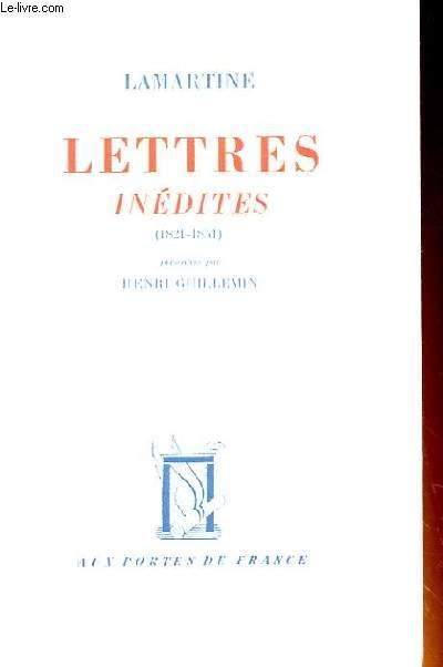LETTRES INEDITES (1821-1851)