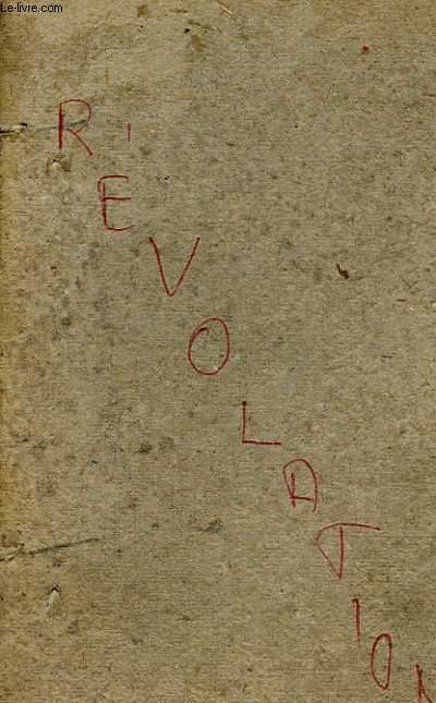 LES GRANDES JOURNEES DE LA REVOLUTION