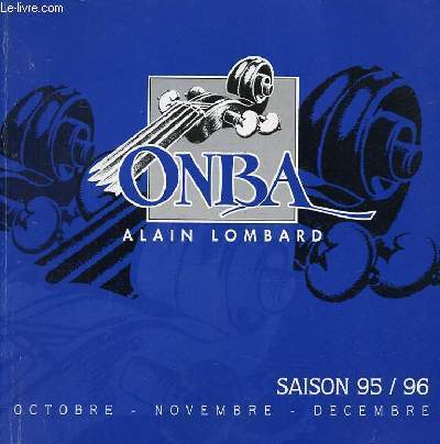 ORCHESTRE NATIONAL BORDEAUX AQUITAINE - OCTOBRE, NOVEMBRE, DECEMBRE