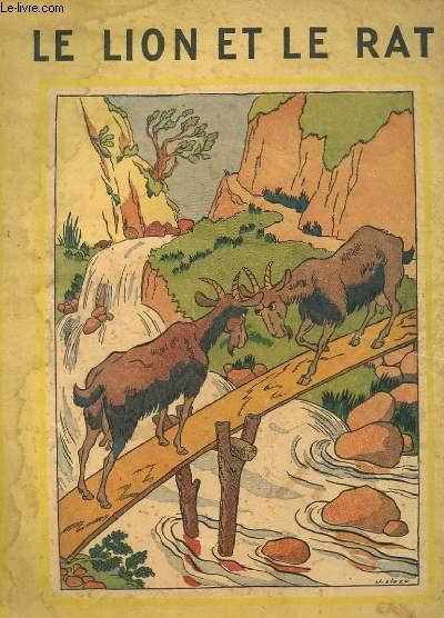 Fables de la fontaine le lion et le rat la fontaine - Image le lion et le rat ...