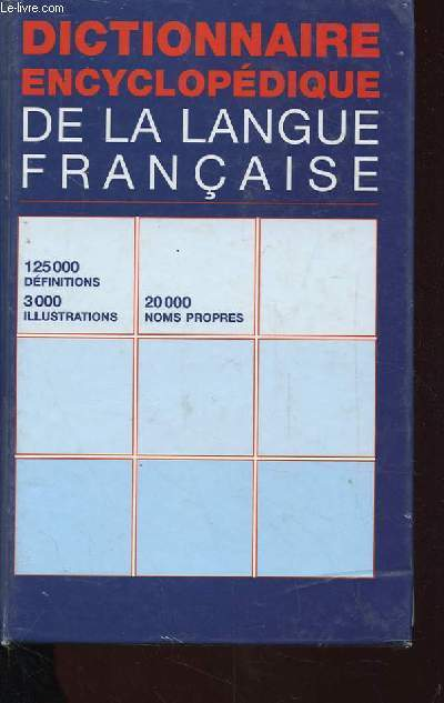 DICTIONNAIRE HACHETTE ENCYCLOPEDIQUE ILLUSTRE