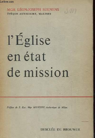 L'EGLISE EN ETAT DE MISSION