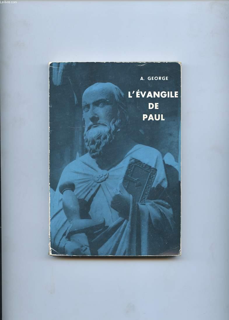 L'EVANGILE DE PAUL