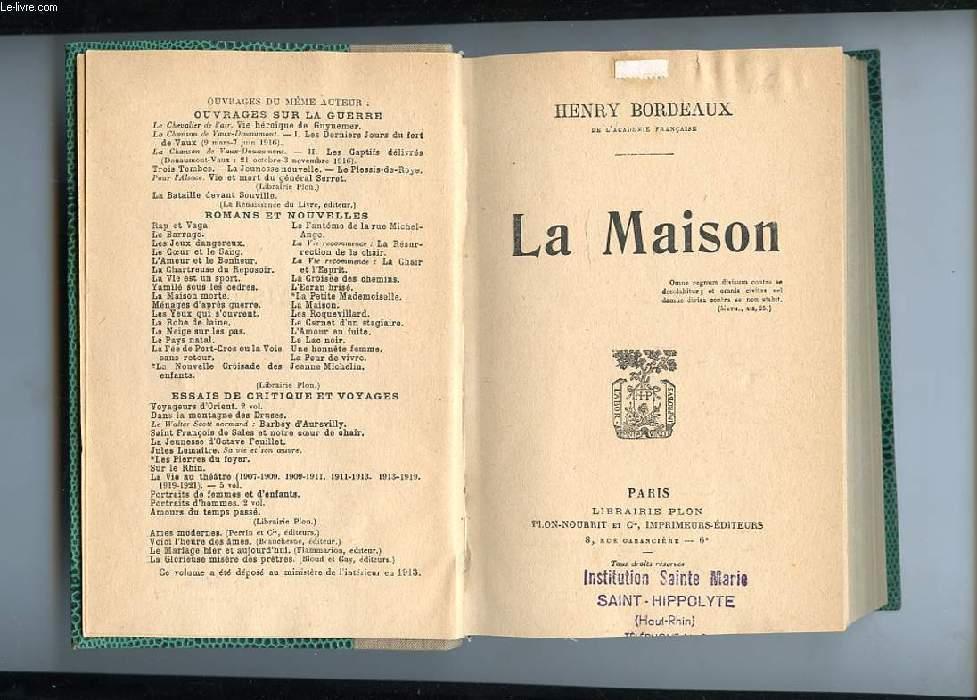 LA MAISON