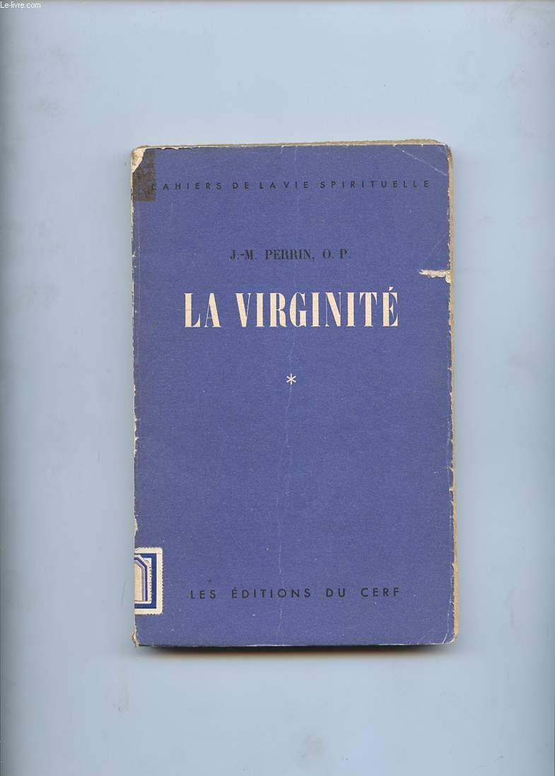 LA VIRGINITE