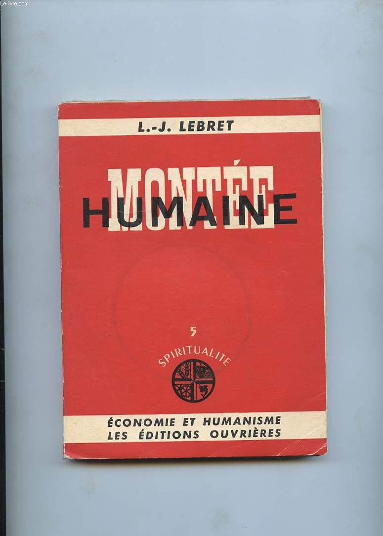 MONTEE HUMAINE