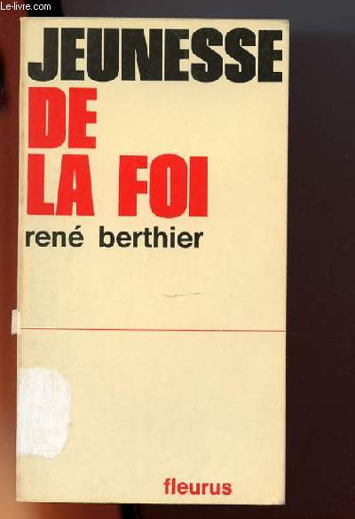Jeunesse de la Foi.