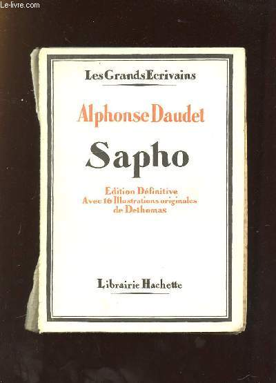 SAPHO. EDITION DEFINITIVE.