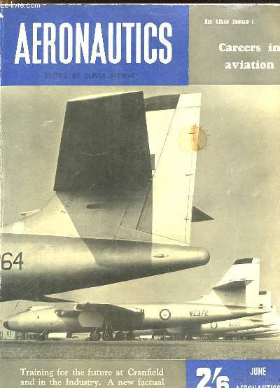 AERONAUTICS N° 4 JUNE 1956. TEXTE EN ANGLAIS . SOMMAIRE: AID FROM INDUSTRY, CHELSEA COLLEGE, MUCHNESS OF MEDIUM...