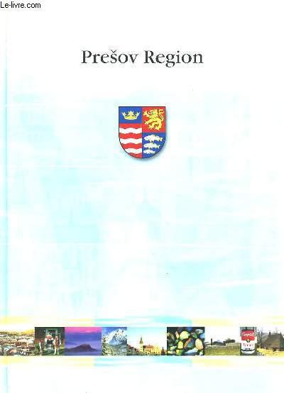 PRESOV REGION. TEXTE EN ANGLAIS.