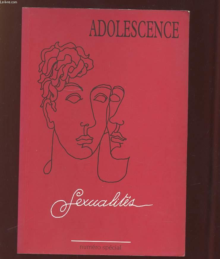 ADOLESCENCE NUMERO SPECIAL 1997. SEXUALITES.