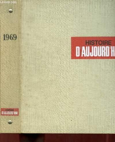 HISTOIRE D AUJOURD HUI 1969 DU N° 51 AU N° 62.
