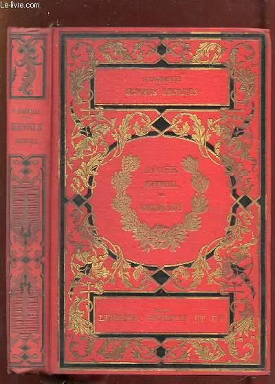 OEUVRES CHOISIES DE P CORNEILLE. 3em EDITION.