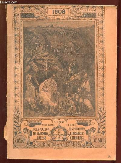 ALMANACH DU PELERIN POUR 1908. LA FUITE EN EGYPTE.