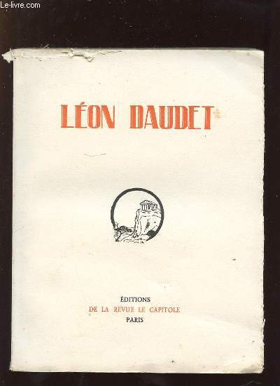 DAUDET LEON.