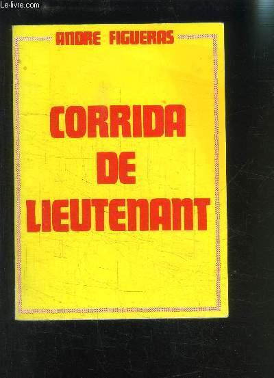 CORRIDA DE LIEUTENANT
