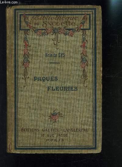 PAQUES FLEURIES- bibliotheque de Suzette