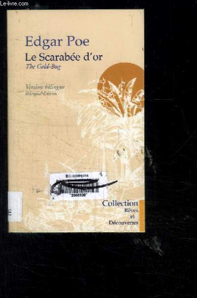 LE SCARABEE D OR- VERSION BILINGUE