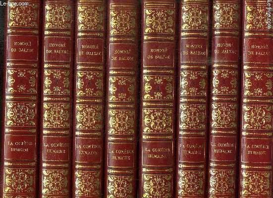 LA COMEDIE HUMAINE - OEUVRES COMPLETES DE M. DE BALZAC - COMPLET EN 19 VOLUMES
