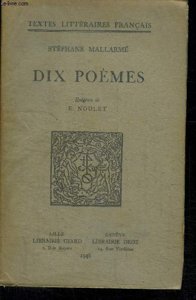 DIX POEMES