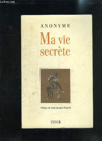 MA VIE SECRETE