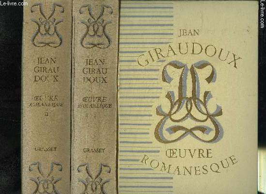 OEUVRES ROMANESQUE- TOME I ET TOME II- EN 2 VOLUMES