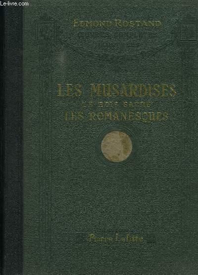 LES MUSARDISES- LE BOIS SACRE- LES ROMANESQUES- OEUVRES COMPLETES ILLUSTREES