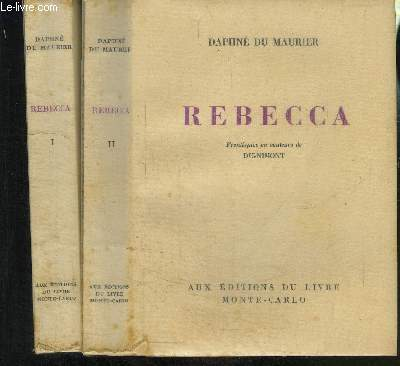 REBECCA- 2 TOMES EN 2 VOLUMES