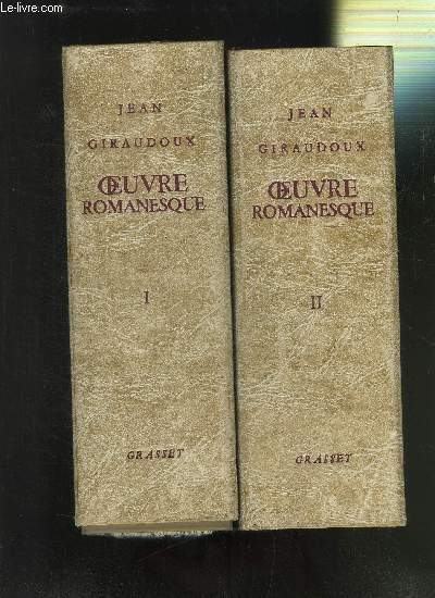 OEUVRES ROMANESQUES- 2 TOMES EN 2 VOLUMES