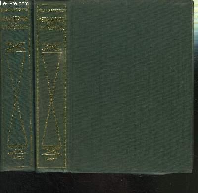 METAMORPHOSE DE LA LITTERATURE - 2 TOMES EN 2 VOLUMES / TOME I: DE BARRES A MALRAUX - TOME II: DE PROUST A SARTRE